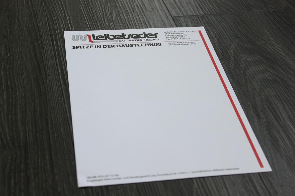 installationen leibetseder - briefpapier