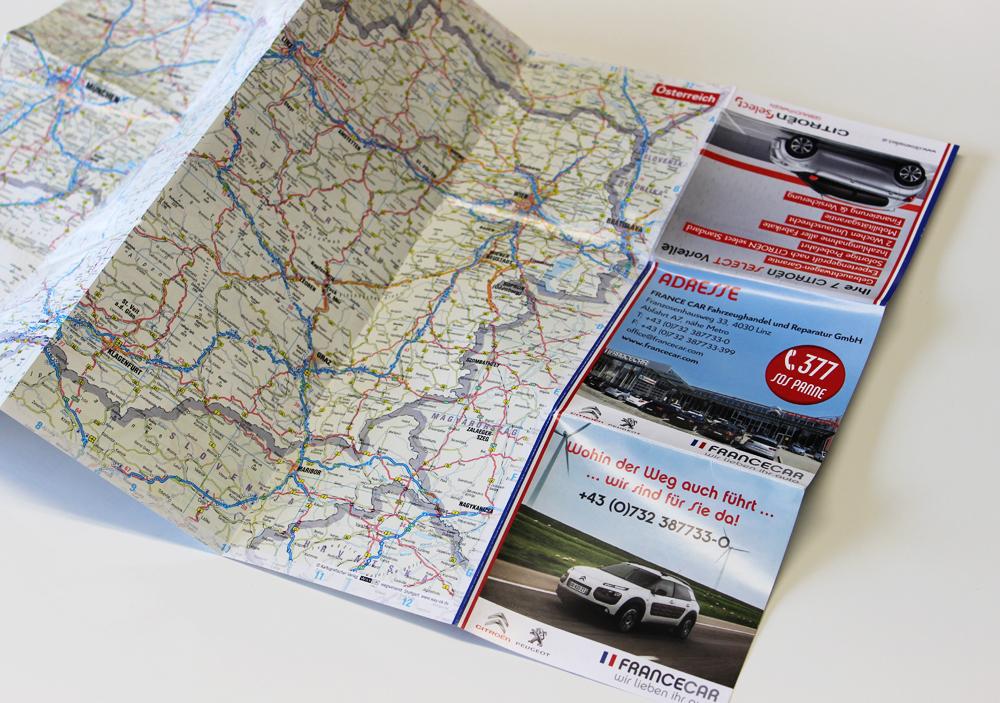 inserat landkarte francecar