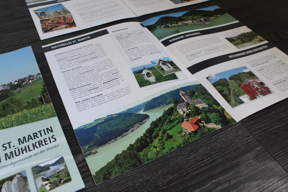 broschüre tourismusverband st.martin im mühlkreis