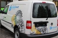 fahrzeugbeklebung WWS wasserkraft