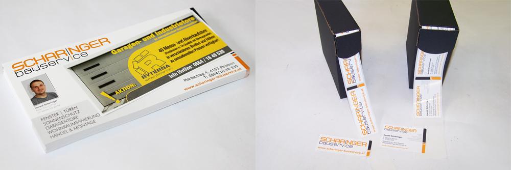 flyer und etiketten