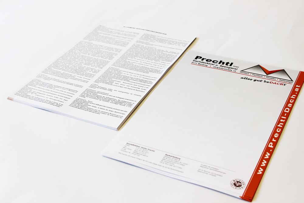 briefpapier 2-seitig