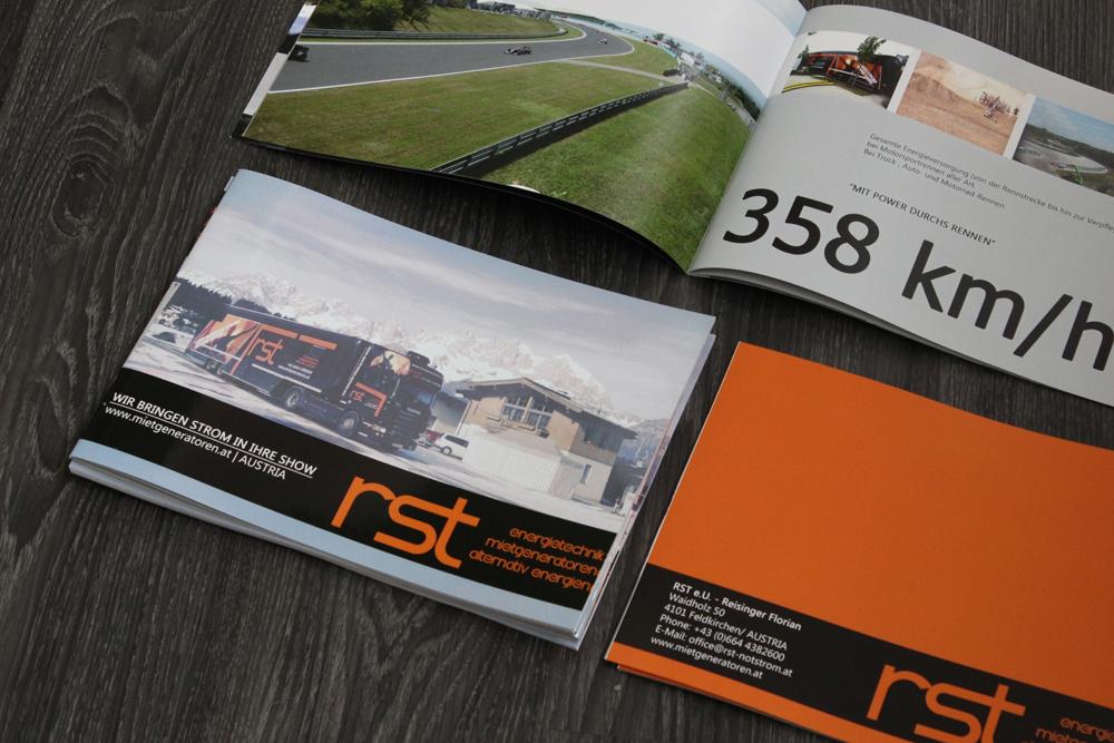 broschüre A4 quer