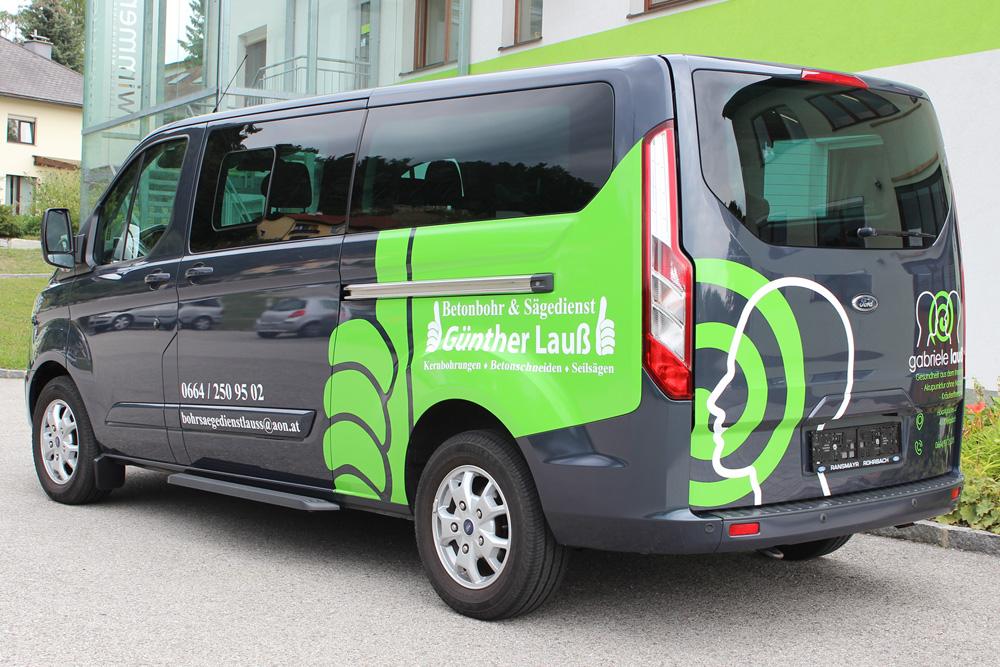 beklebung ford transit custom