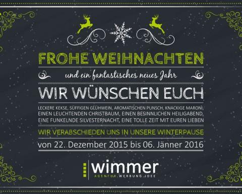 weihnachtskarte 2016
