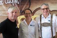 Böhmerwaldmesse 2015: Optik Laher, Rohrbach - Marianne + Gerald Laher
