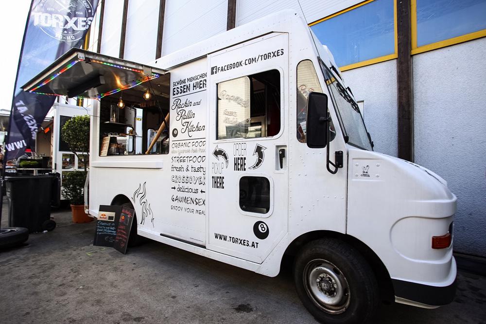 beklebung streetfood truck