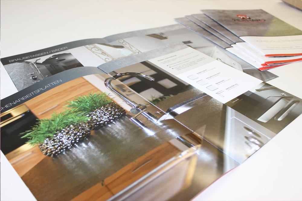 imagebroschüre A4 8-seitig