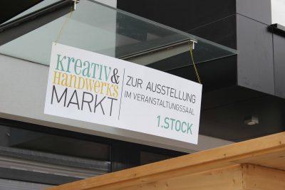 werbung für kreativ und handwerksmarkt st.martin im mühlkreis