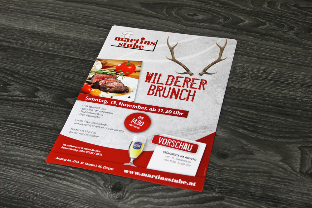 flyer wilderer brunch A4