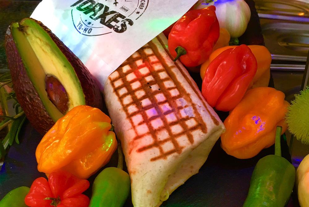 der glorreiche 7 Burrito