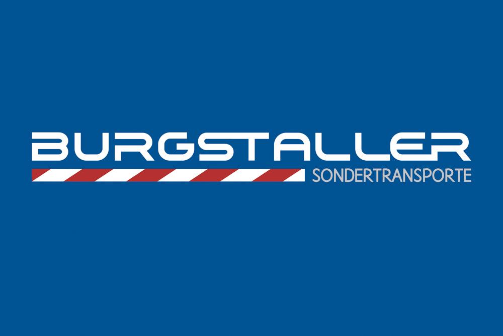 Logogestaltung Burgstaller Sondertransporte