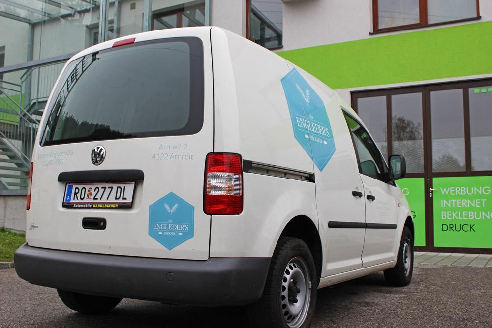 beklebung VW caddy