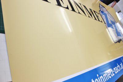 alu aufkaschiert eine digitaldruckfolie mit laminat