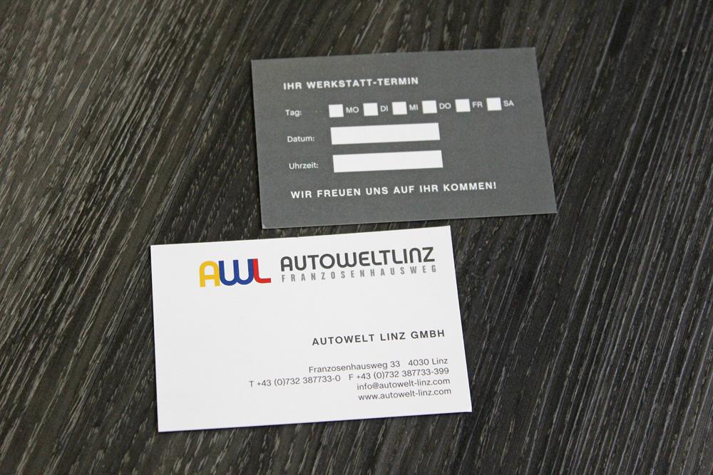 terminkarten im visitenkartenformat