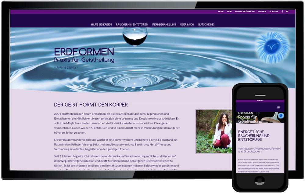 homepage programmieren