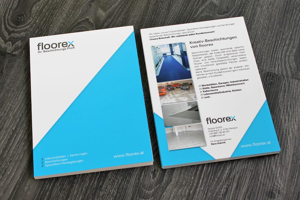 forexplatten A4 zum anbringen von produktmustern