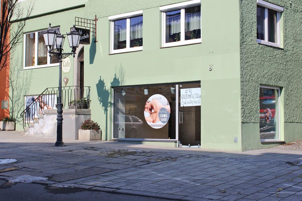 beklebung huber shop rohrbach