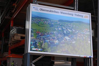 Beklebung Schaukästen Leader Region Sterngartl Gusental