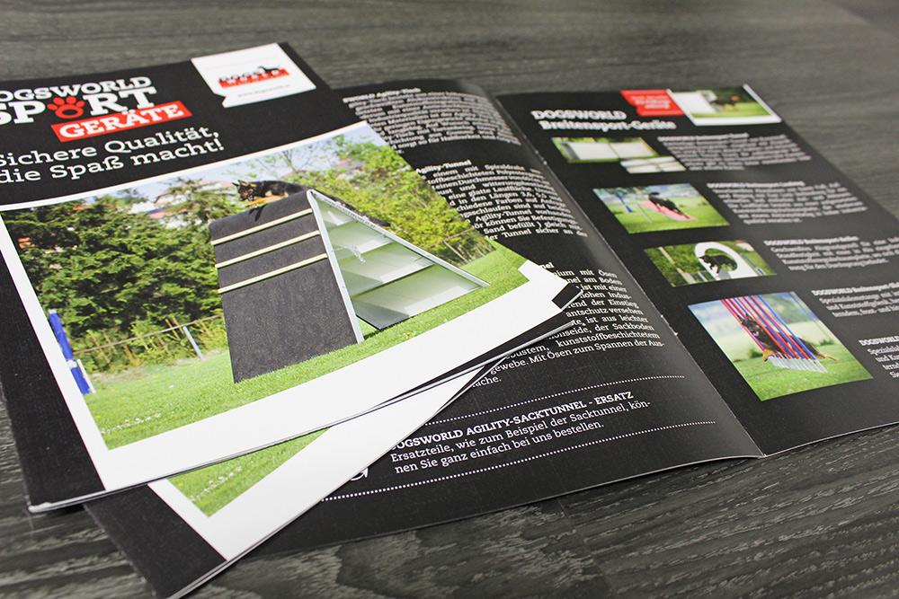 broschüre A4, 16-seitig