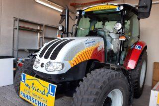 traktorbeklebung