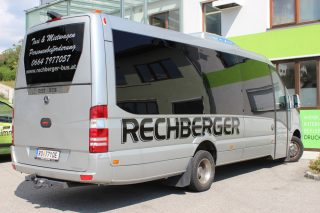beklebung merceds bus