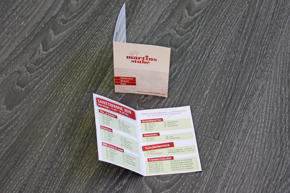 klappkarten A7, 4-seitig