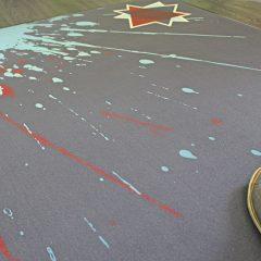 bedruckte teppich