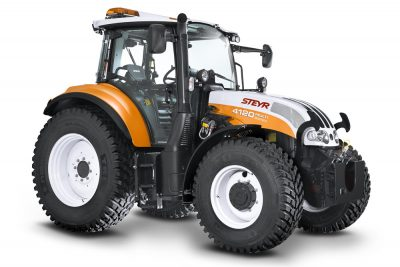 traktorfolierung in kommunalorange