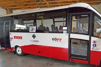 beklebung iveco bus