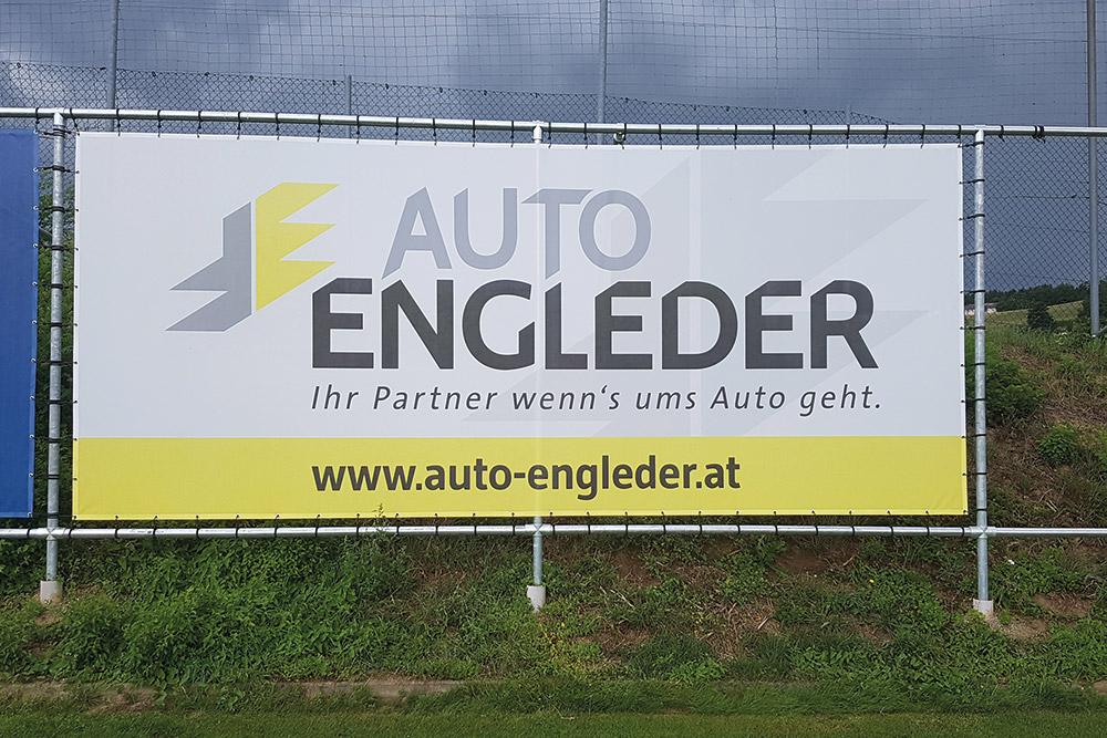 mesh transparent 5,7x2,40m am sportplatz putzleinsdorf
