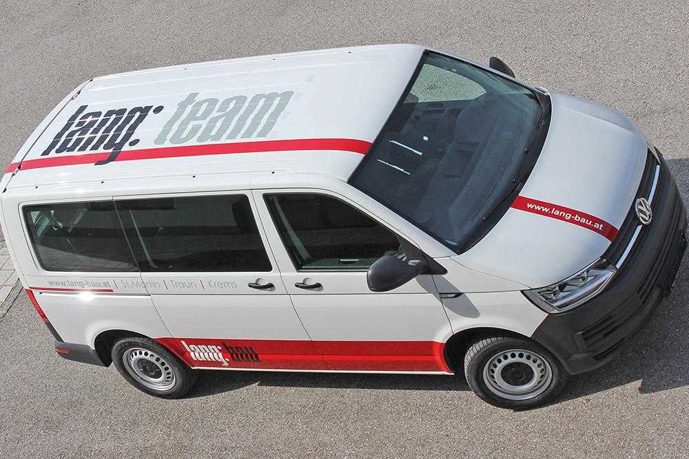 beklebung VW T6