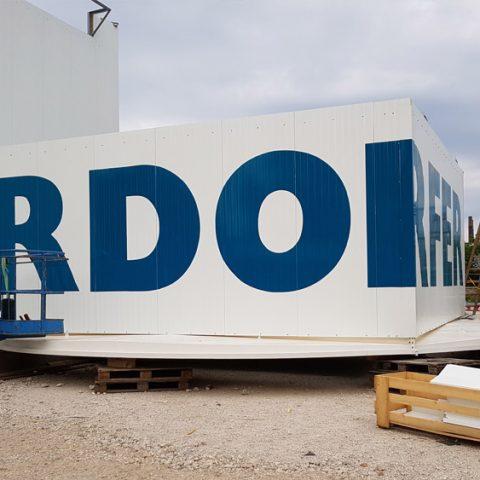 beklebung betonwerk rohrdorfer linz