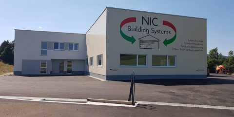 fassadenbeklebung nic building systems