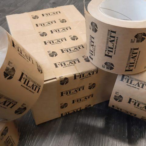 paketklebebänder aus pp-kunststoff und papier