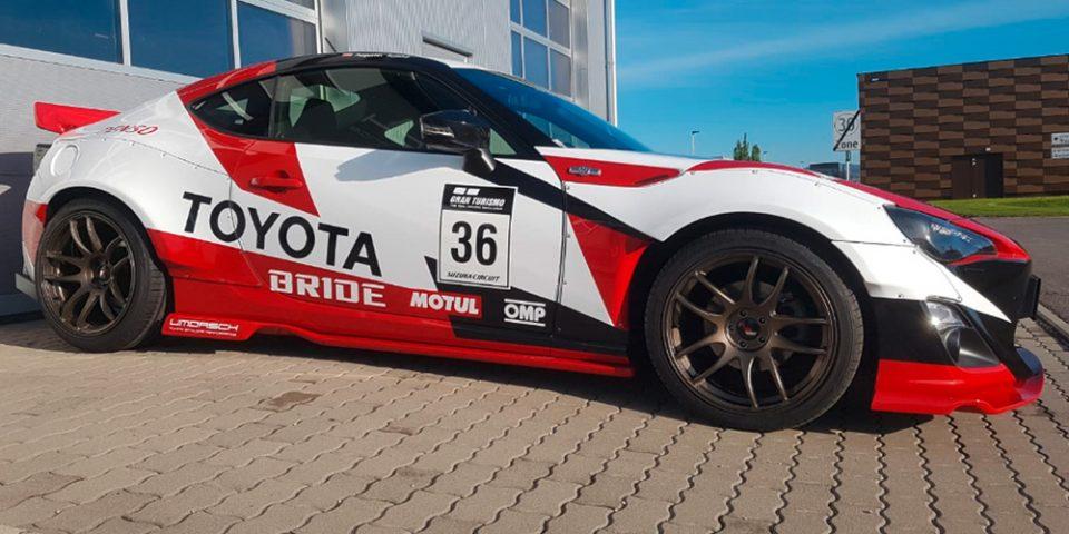 Toyota GT86 im Design des 'Toyota FT1 Vision Gran Turismo'
