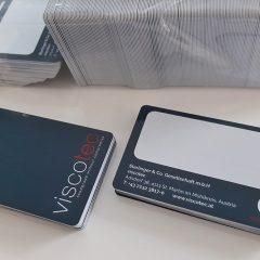 personalisierte RFID-blocking-cards mit unterschriftenfeld