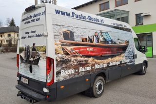 folierung iveco daily