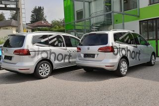 beklebung vw sharan