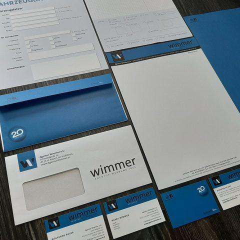 Agentur Wimmer #alleswirdblau