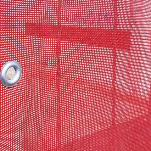 bauzaunbanner aus 300g gitternetzvinyl (mesh)
