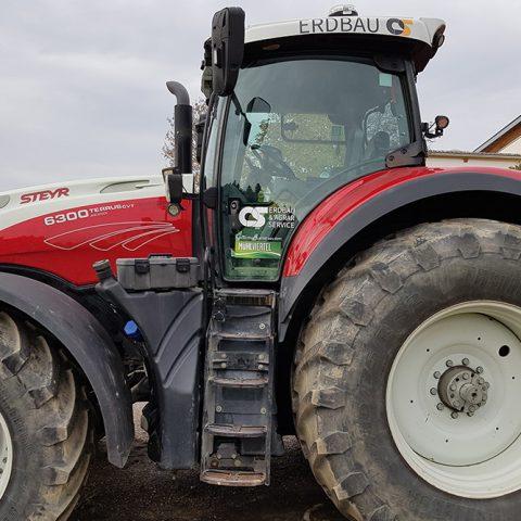 beklebung traktor