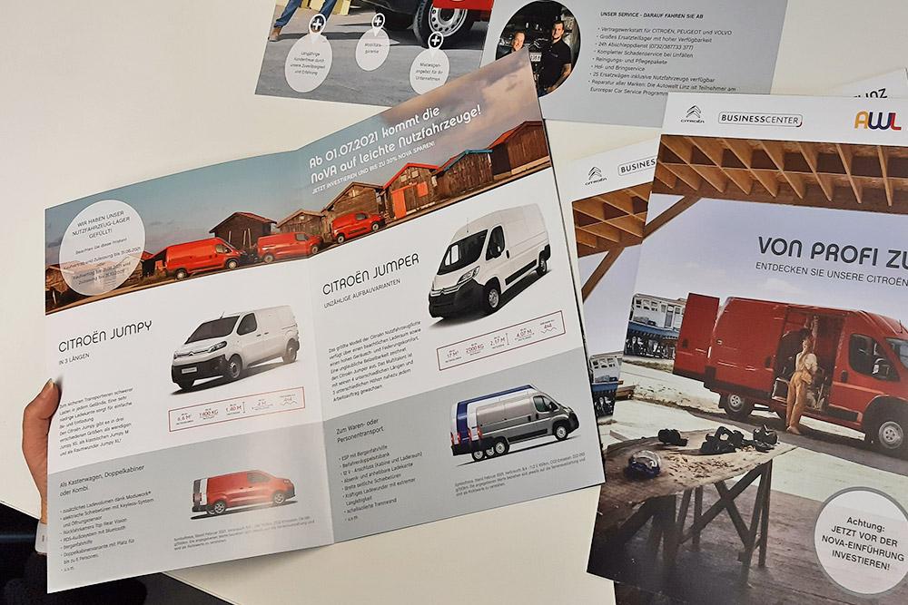 broschüre 8-seitig