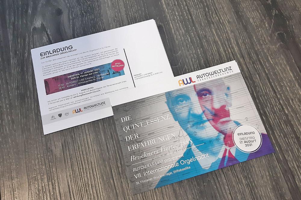 personalisierte postkarte A5
