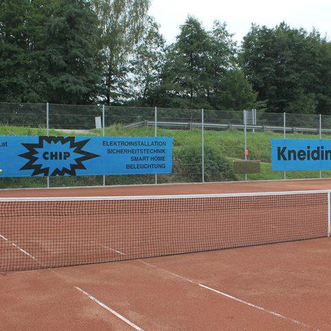 mesh banner, tennisblenden